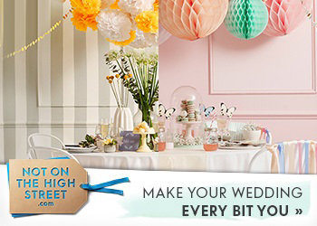 Weddings | Not On The High Street