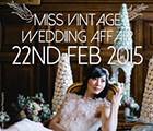 Miss Vintage Wedding Affair